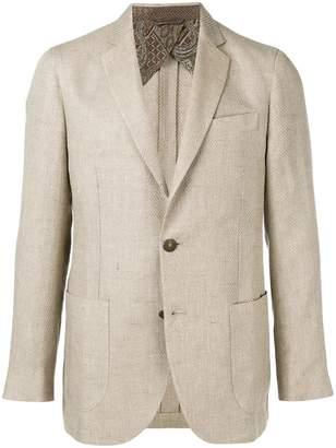 Etro single breasted blazer
