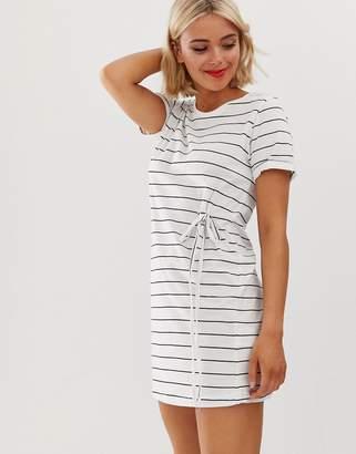 Brave Soul stripe t-shirt dress