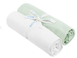 Under the Nile Baby Organic Cotton 2-Pack Swaddle Blanket