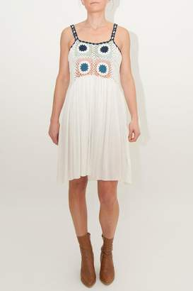 Somedays Lovin Tilda Crochet Smock-Dress