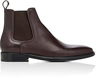Lanvin Men's Grained Leather Chelsea Boots