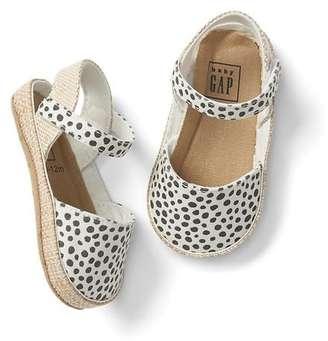 Leopard espadrille sandals $24.95 thestylecure.com