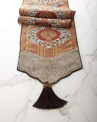 Dian Austin Couture Home Maximus Table Runner with Tassels