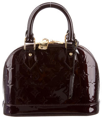 Louis Vuitton Vernis Alma BB $1,595 thestylecure.com