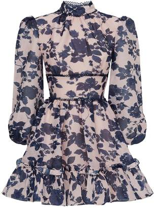 Keepsake The Label Halo Floral Mini Dress
