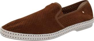 Rivieras Perforated Suede Sultan Loafer