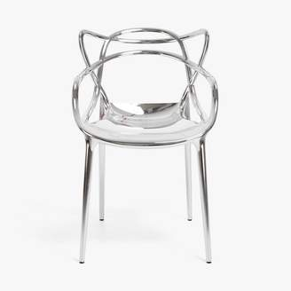 Kartell Masters Metallic Chair Silver