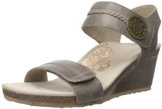 Aetrex Women's Arielle ADJ Strap Wedge Sandal