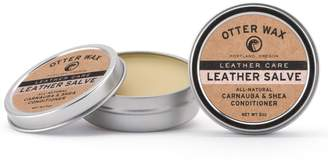 Otter Wax Leather Salve | 5oz | All-Natural Universal Conditioner | Made in USA ...