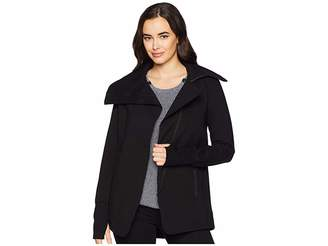 Liverpool Asymmetrical Jacket in Super Stretch Ponte Knit