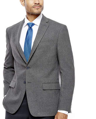 COLLECTION Collection by Michael Strahan Grey Flannel Sport Coat-Classic