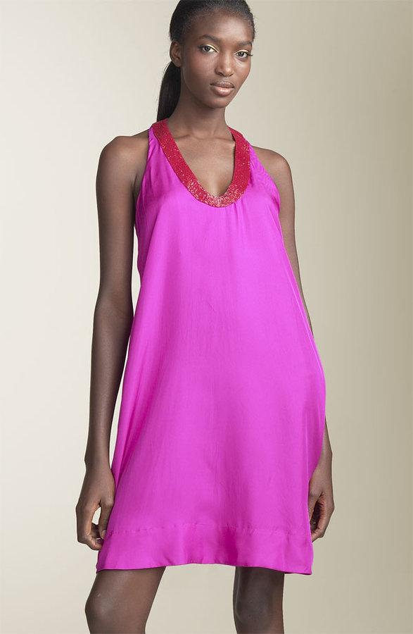 Graham & Spencer Silk Twill Swing Dress