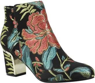 J. Renee Block Heel Ankle Boots - Tunatti