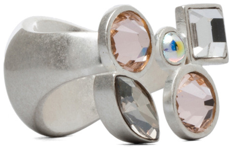 Maison Martin Margiela Ring in Pink