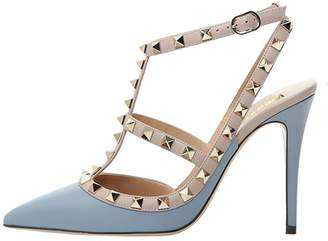 d89afc36cbe7 VOCOSI Women s Pointed Toe Studded Ankle Strap Slingback Stiletto Heels  Dress Party Wedding Rivets Sandals Lines