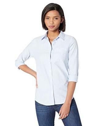 e21c038af40b1 Amazon Essentials Women s Long-Sleeve Classic-Fit Oxford Shirt