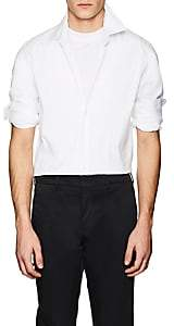 Prada Men's Cotton-Blend Slim Shirt - White