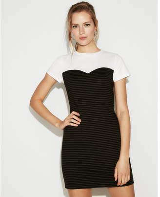 Express petite tee shirt dress