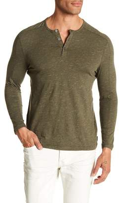 John Varvatos Long Sleeve Henley