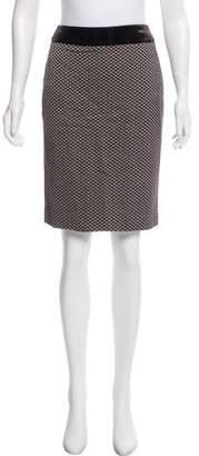 Armani Collezioni Wool Jacquard Skirt w/ Tags