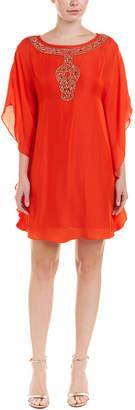 Trina Turk Anissa Silk-Blend Shift Dress