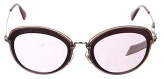 2d14515abac5 Pre-Owned at TheRealReal · Miu Miu Round Tinted Sunglasses