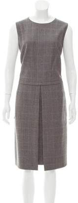 Akris Wool Houndstooth Dress w/ Tags
