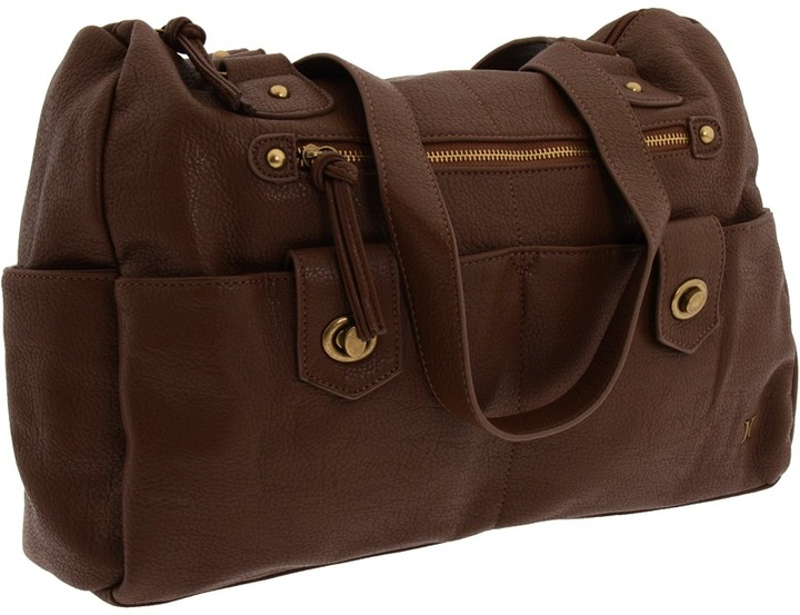 Hurley Prism Satchel (Brown) - Bags and Luggage