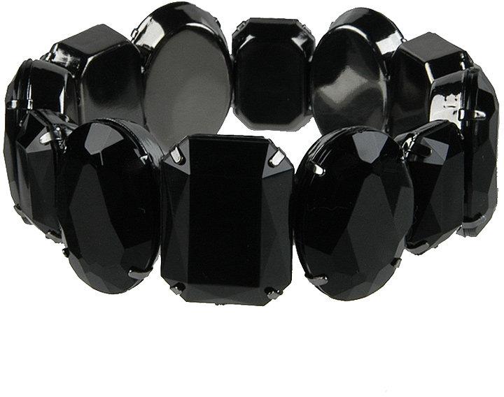 Faceted Rhinestone Bracelet