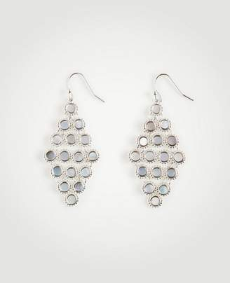 Ann Taylor Mother Of Pearl Chandelier Earrings
