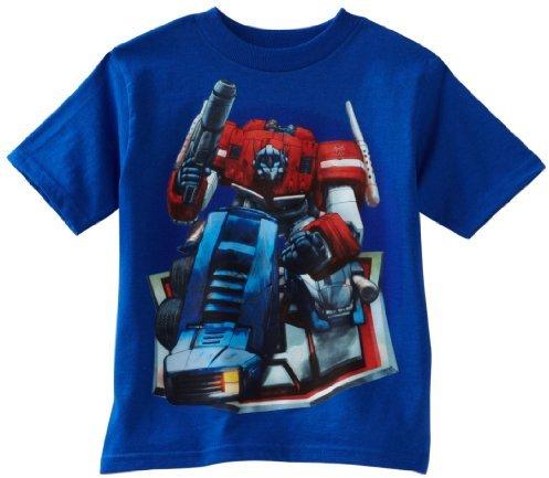 Transformers Boys 2-7 Optimus Prime Bend Tee