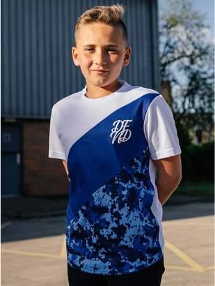 M&Co DFND stripe t-shirt (5 - 13 yrs)