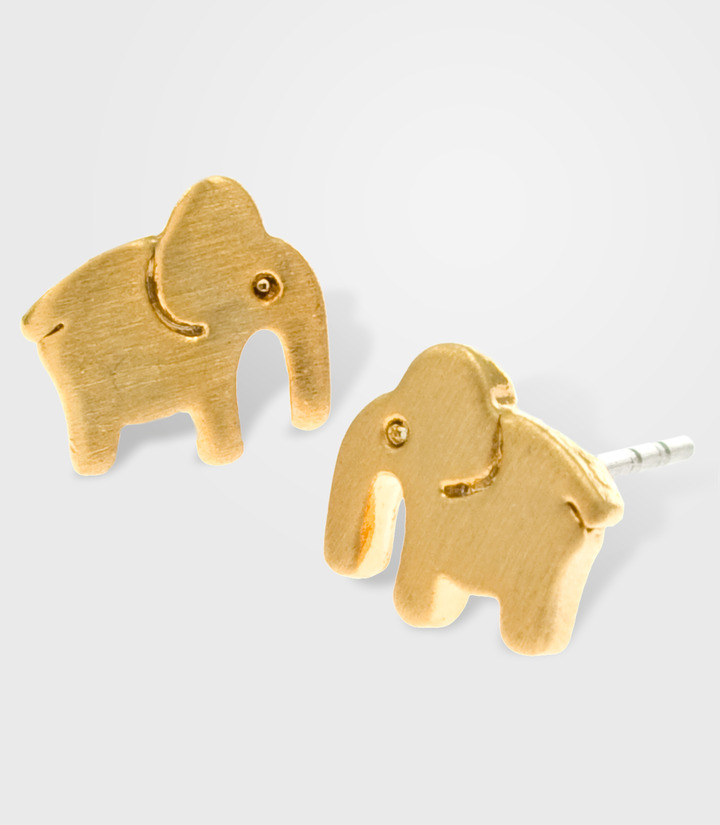 Fred Flare Mini Elephant Earrings