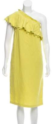 Apiece Apart Reina One-Shoulder Dress w/ Tags