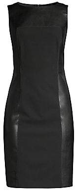 Piazza Sempione Women's Sleeveless Sheath Dress