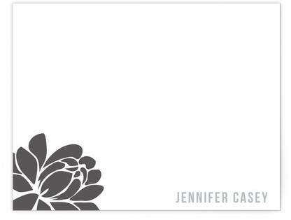 Graphic Blossom Personalized Stationery