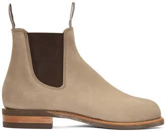 R.M. Williams Beige Comfort Turnout Boots
