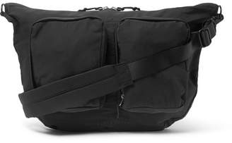 Pop Trading Company - Coated-Twill Messenger Bag - Men - Black