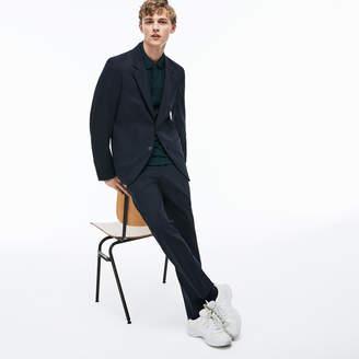 Lacoste Men's Stretch Wool Twill Blazer