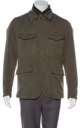 C.P. Company Twill Layered Field Jacket olive Twill Layered Field Jacket