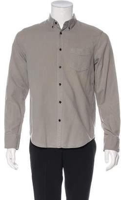 Rag & Bone Woven Button-Up Shirt