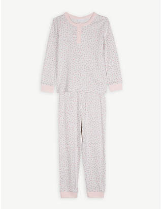 The Little White Company Floral print cotton pyjamas 1-12 years