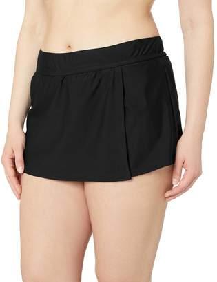 Catalina Women's Plus-Size Skirted Bikini Swim Bottom Swimsuit