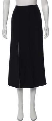 Jonathan Simkhai Silk Slit Midi Skirt w/ Tags