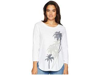 Fresh Produce Palm Eclipse Catalina Top Women's Clothing