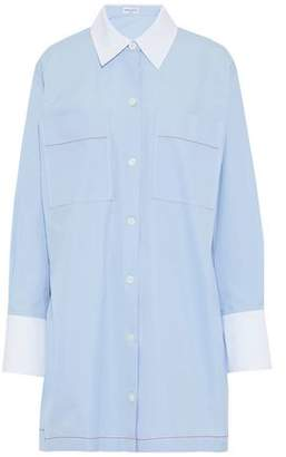 Sonia Rykiel Cotton-Poplin Mini Shirt Dress