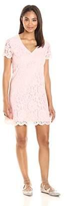 Paris Sunday Women's Short Sleeve A-Line Dress