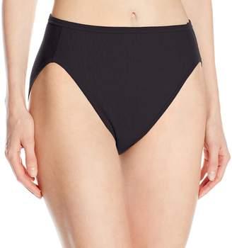 Vanity Fair Women's Illumination Cotton Hi-Cut Panty 13315