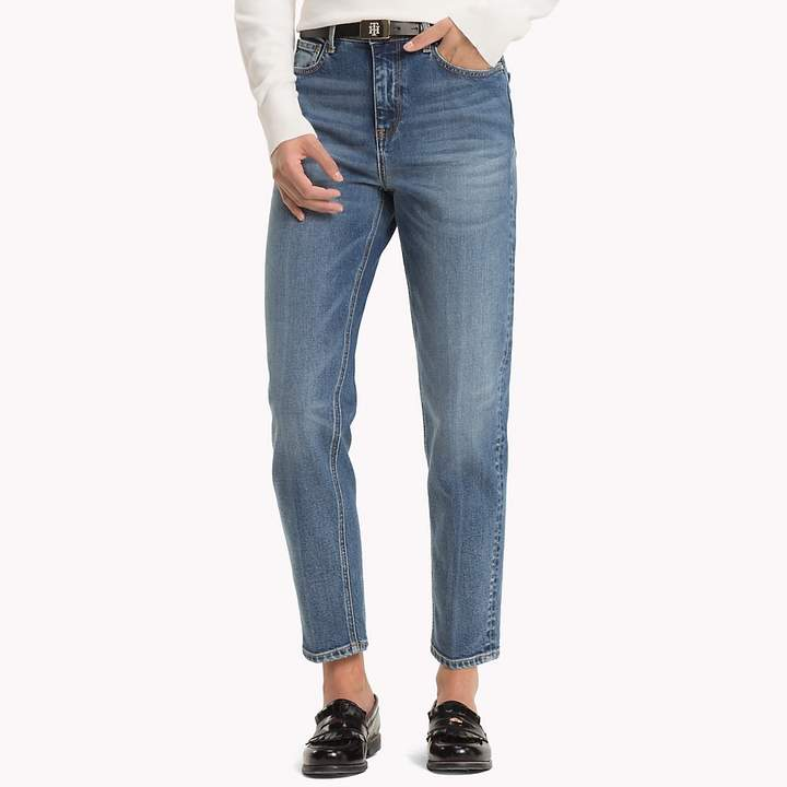 Ankle Mom Jeans