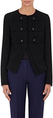 Derek Lam Women's Military Jacket-BLACK $1,895 thestylecure.com